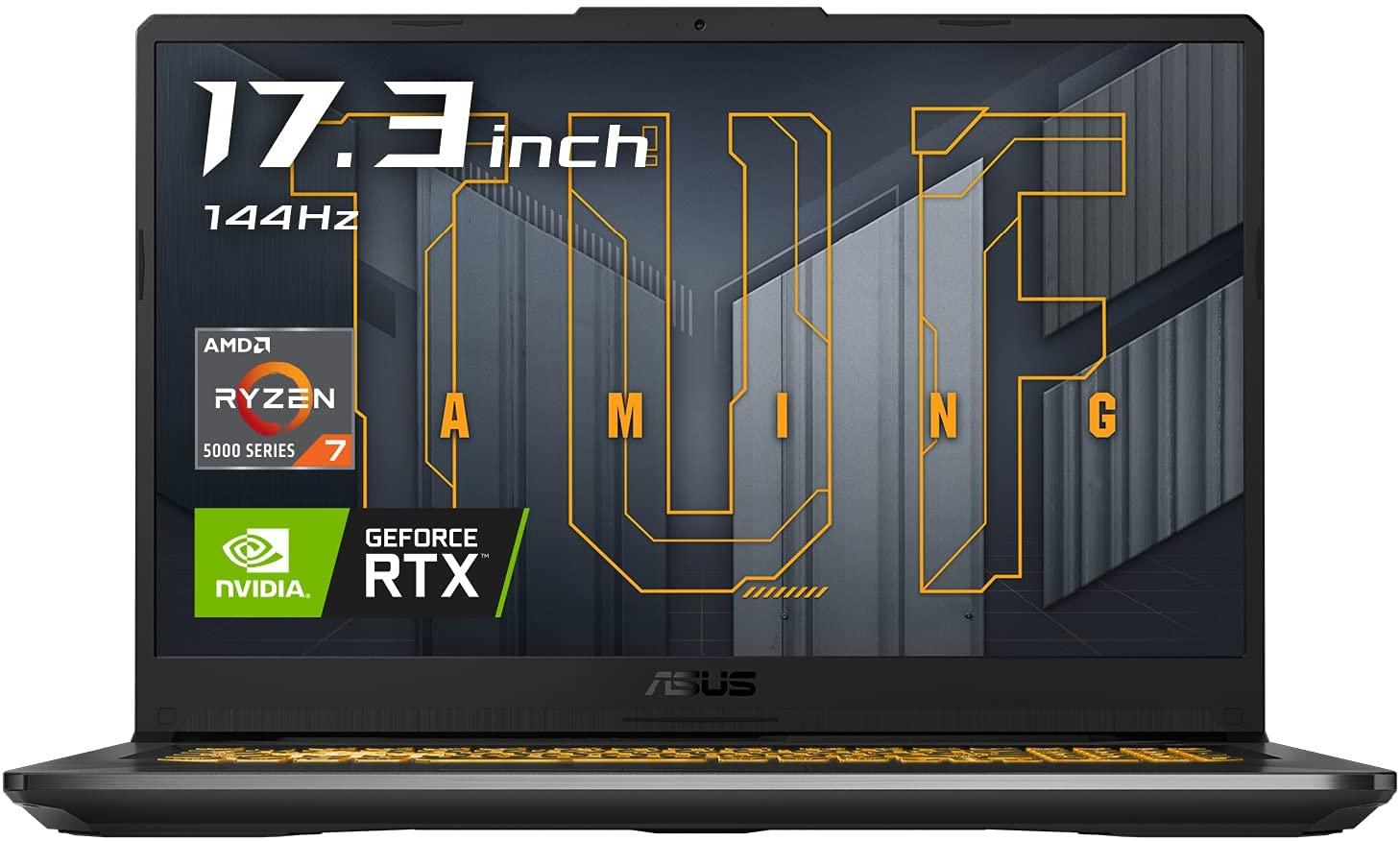 【PC】ゲーミングノートPC ASUS TUF Gaming A17 RTX3060 ベンチマーク/レビュー/感想 ※壊れたので追記